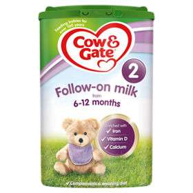 Selected Cow and gate milk 2 for £13.50 @ Asda (instore and online)