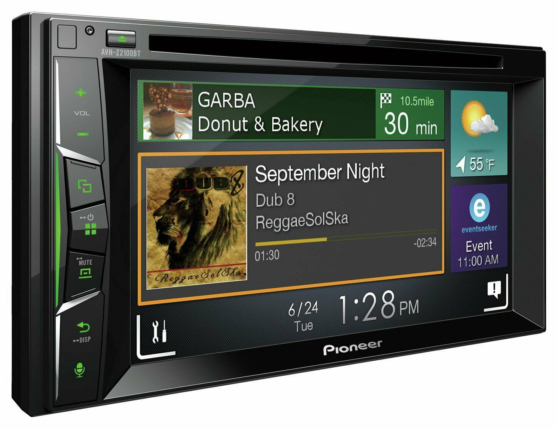 Pioneer AVH-Z2100BT 6.2 Inch Touchscreen Bluetooth CarPlay/Android Auto £129.59 @ Argos Ebay