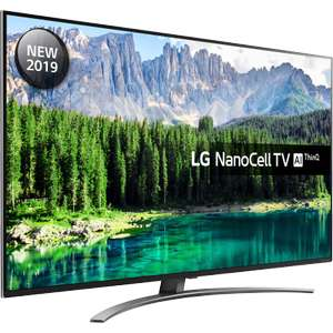"LG 55SM8600PLA 55"" Smart 4K Ultra HD TV (2019) with Nano Cell, HDR10, Dolby Vision & Dolby Atmos for £687.10 delivered @ AO eBay"