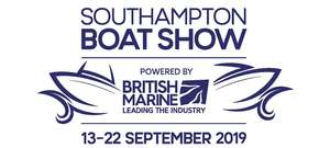 Southampton Boat Show, 13th - 22nd Sept, Ticket Discount from £22 to £13.50