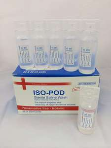 25 x 20ml Sterile Saline Eye Wash Pods £5.95 Delivered @ Amazon