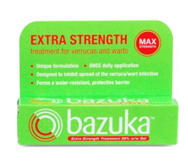 Bazuka that verruca extra strength gel £1.73 Asda walsall