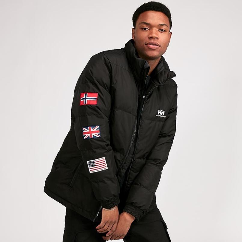 Helly Hansen Tri Flag Puffer Jacket now £49.99 edited L, XL Free Delivery @ Footasylum