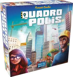 Quadropolis Board Game £14.99 Sold by Fun Collectables and Fulfilled by Amazon.
