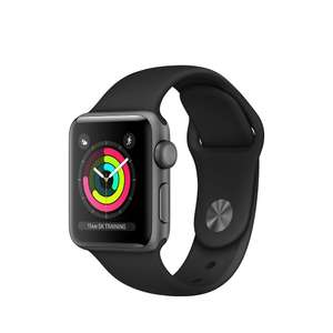Apple Watch Series 3 Aluminium 38mm GPS - Apple Store Refurbished - £169