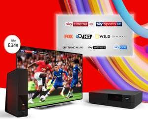 """Free 43"""" 4K Toshiba Smart TV or £150 Bill Credit with selected bundles with Virgin Media - Ends 11/09"""