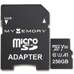 MyMemory 256GB V30 PRO Micro SDXC TF Memory Card A1 UHS-1 U3 + Adapter - 100MB/s £21.99 @ MyMemory / Ebay