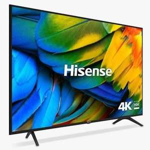 "Hisense H55B7100UK (2019) LED HDR 4K Ultra HD Smart TV, 55"" with Freeview Play, 5 year warranty / Black/Silver £429 @ John Lewis & Partners"