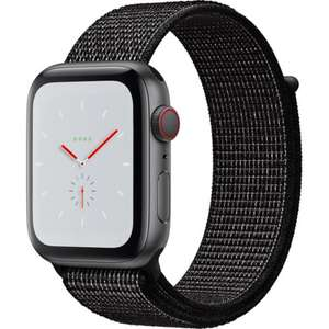 Apple Watch Nike+, Series 4, GPS and Cellular, 44mm Aluminium Case with Nike Sport Band, Black - £399.98 @ eBuyer