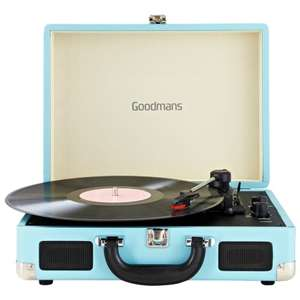 Goodmans revive turntable only £5 at B & M (Southport)