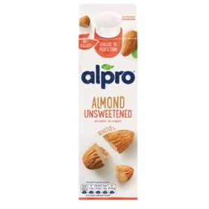 Alpro Chilled Almond Unsweetened 1 litre - 2 for £2 @ Waitrose (Cashback available)