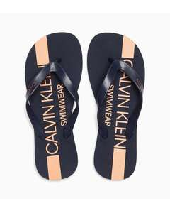 Flip Flops - Core Icon Blue Shadow £15 + £3.95 p&p @ Calvin Klein