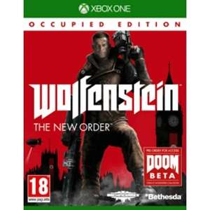 Wolfenstein The New Order Occupied Edition (Xbox One) £8.99 delivered with code @ 365Games