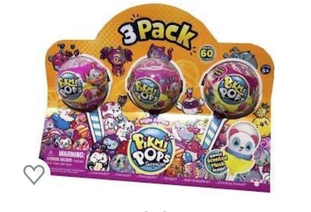Pikmi pops 3 pack - £5.99 @ Home Bargains