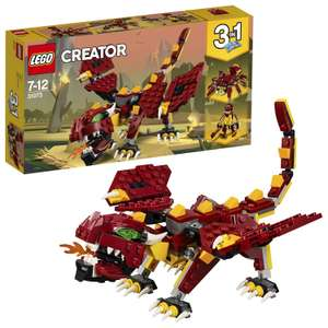 LEGO 31073 Creator 3in1 Mythical Creatures £7.98 Amazon Prime (£12.47 Non Prime)