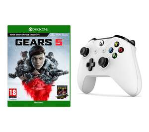 Gears 5 Xbox One & Xbox Wireless Controller Bundle - White or Black £64.99 @ Currys