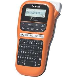 BROTHER PTE110 ELECTRICIANS LABEL PRINTING MACHINE £24.99 @ Screwfix