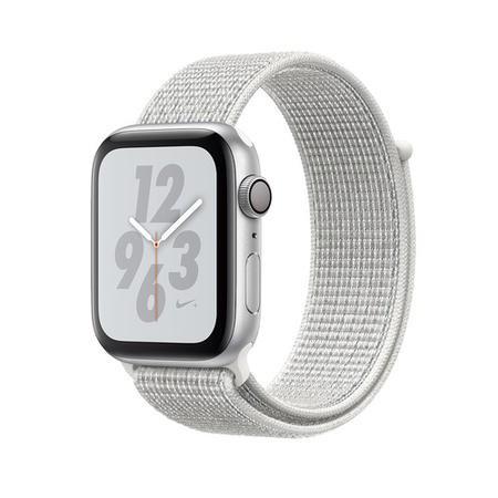 Apple Watch Nike+ Series 4 (GPS + Cellular) 44mm Silver Aluminium Case + Summit White Nike Sport - £394.97 @ Laptops Direct