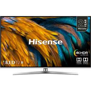 Hisense H50U7BUK U7B 50 Inch Smart 4K Ultra HD Dolby TV £404.10 delivered with code @ AO ebay (through the ebay app)