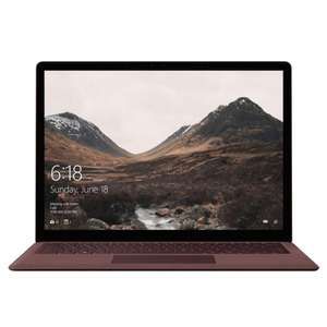 Microsoft Surface Laptop -  i7-7660U / 256GB SSD / 8GB RAM / 2256x1504 £799.99 with code @ Laptop Outlet