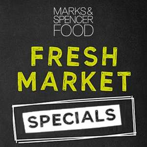 Fresh Market Produce Specials 65p @ Marks and Spencers