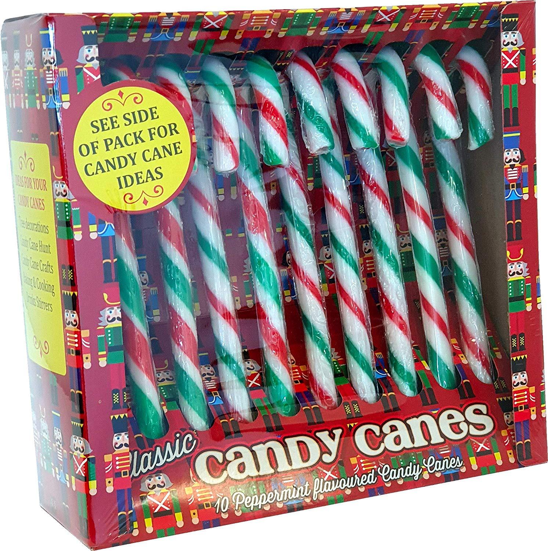 Rose Nutcracker Candy Canes 10pk £1  @ Amazon  (£5.49 Non Prime)