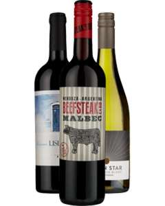 3 FREE Bottles of Wine @ Majestic wine FREE Collect in store