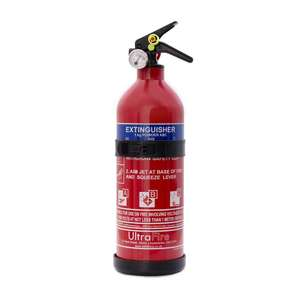 UltraFire 1kg Powder Fire Extinguisher - £11 Delivered - Sold and Despatched by Safelincs via Amazon