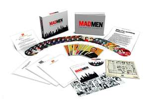 Mad Men Complete Seasons 1-7 DELUXE COLLECTORS Edition Blu-Rays. Inc: Artcards, Books, Episode Guide, Letters, Photo Montage £57.87 @ Amazon