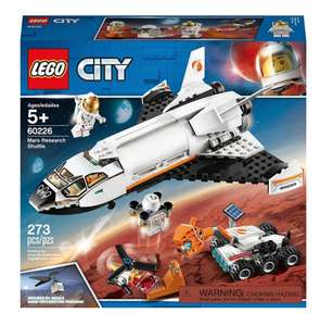 Lego 60226 Mars Research Shuttle - £15 + Free Delivery with code @ Debenhams
