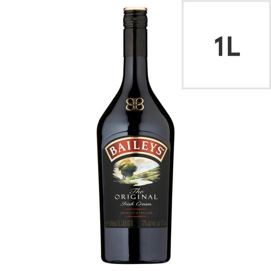 Baileys Original Irish Cream Liqueur  1L £12 @ Sainsbury's