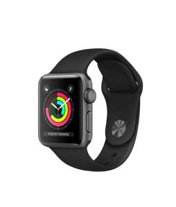 New Apple Watch Series 3 38mm Space Grey Aluminium Case with Black Sport Band £199 @ Apple
