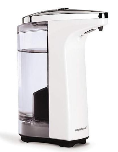 Simplehuman Sensor Soap and Pump, White - Free C&C @ Dunelm - £15