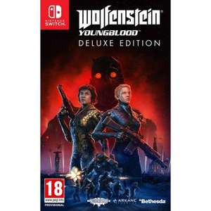 Wolfenstein: Youngblood Deluxe Edition (Switch/PS4/Xbox One) £18.95 Delivered @ The Game Collection