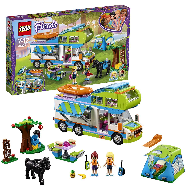 LEGO 41339 Friends Heartlake Mia's Camper Van Playset, Mia and Stephanie Mini Dolls, Build and Play Fun Toys for Kids £29.97 @ Amazon