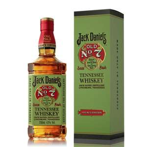 Jack Daniel's Legacy Edition Old No 7 Tennessee Whiskey - 70cl - £16 - Asda