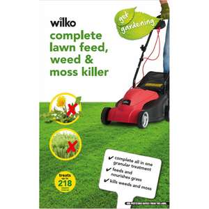Wilko Lawn Treatment 7kg sack £2.50