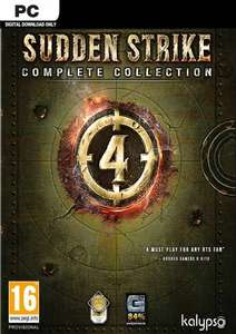 Sudden Strike 4 Complete Collection (Steam code on CDKeys) now £13.99