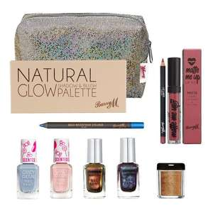 Barry M Bombshell Make Up Goody Bag contents worth £45 just £10.40 with code (plus £2.50 delivery) @ Barry M Shop