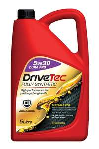 Drivetec 5w30 Fully Synthetic Oil - £14.78 (With Code) @ GSF Car Parts