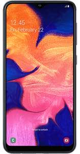 Samsung Galaxy A10 - £9.99pm for 24 months /  Includes - 500mb Data - 250mins Unlimited Texts £239.76 @ ID Mobile Via Uswitch