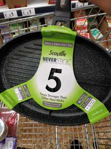 Scoville Never Stick 3 in 1 Pan £6 @ Asda Lower Earley