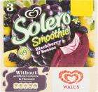 box of 25 solero smoothie banana and blackberry lollies. full size ice lollies £2.00 @ FarmFoods