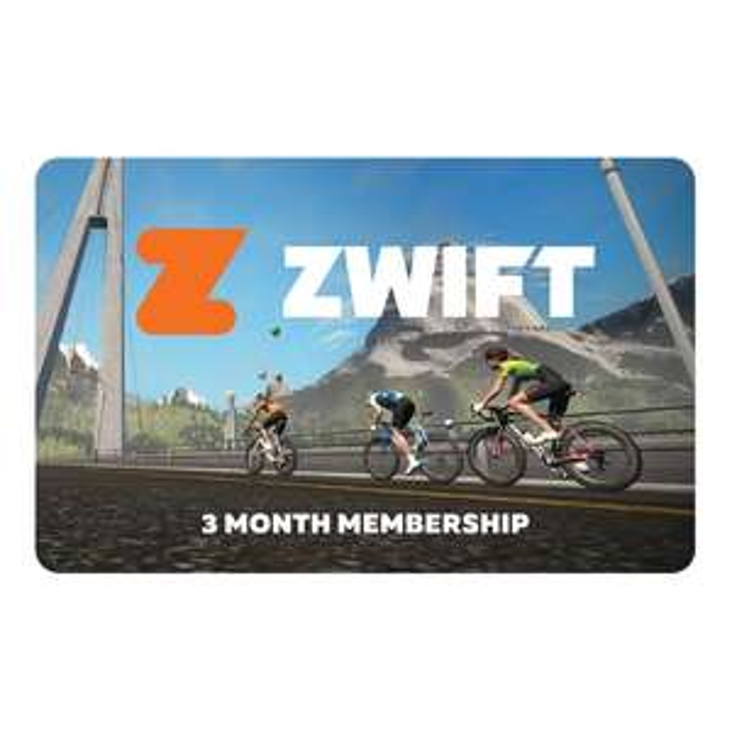 Zwift 3 month physical card £33.34 delivered @ biketart