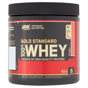 Gold Standard Whey Protein - Delicious Strawberry - 176G £3.10 at Tesco Talbot Green
