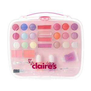 30% off most items at Claire's Accessories, extra 20% with code on select items. Eg. Make up set £12 to £6.72 + free click and collect