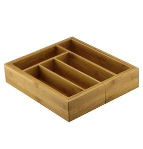 Cooke & Lewis Bamboo Extendable Cutlery Tray £5 C&C @ B&Q