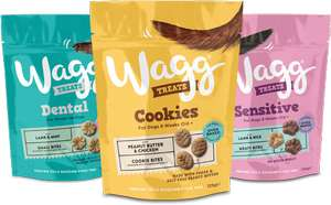 50p Money Off Coupon for Dog Treats from Wagg