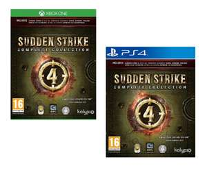 Sudden Strike 4 Complete Collection [Xbox One/PS4] for £23.95 Delivered @ The Game Collection