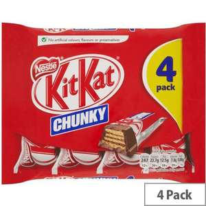 Kit Kat Chunky 4 pack - 83p instore @ Tesco Purley
